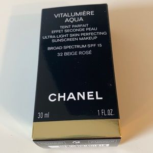 Chanel beige rose vitalumiere